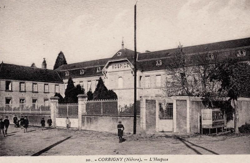 Corbigny (Nièvre) L'hospice CPA