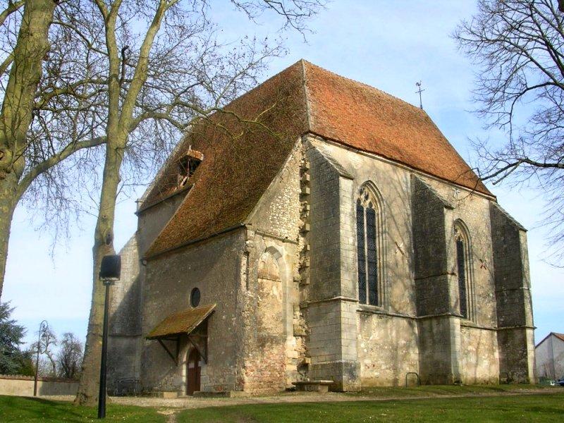 Cosne-Cours-sur-Loire (Nièvre) L'église Saint Symphorien de Cours