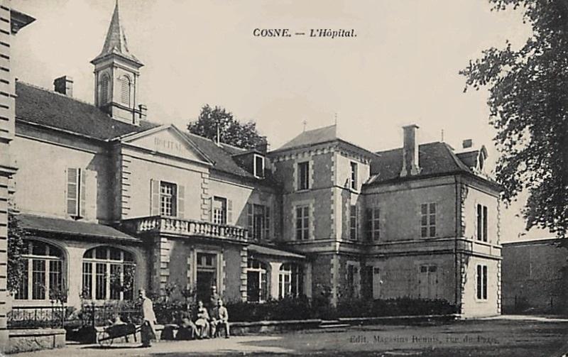 Cosne-Cours-sur-Loire (Nièvre) L'Hôpital CPA