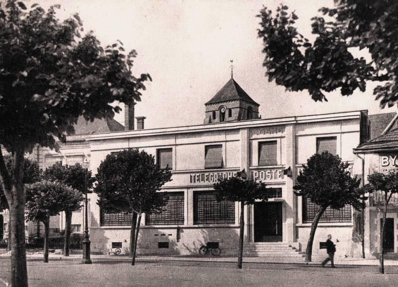 Cosne-Cours-sur-Loire (Nièvre) La nouvelle Poste CPA