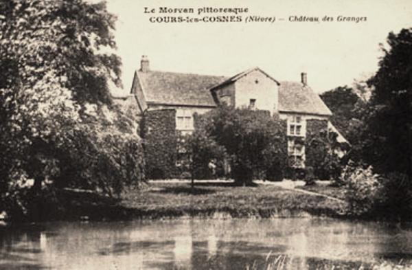 Cosne-Cours-sur-Loire (Nièvre) Les Granges, le château CPA