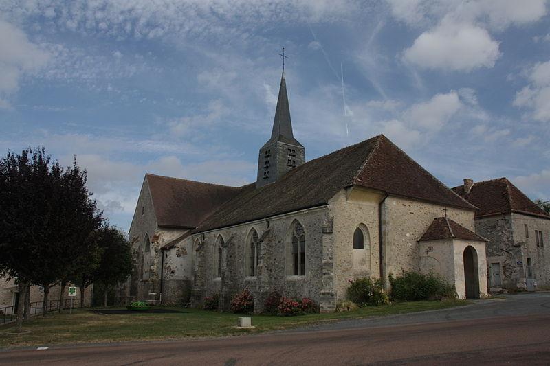 Courboin (Aisne) L'église Saint Jean-Baptiste