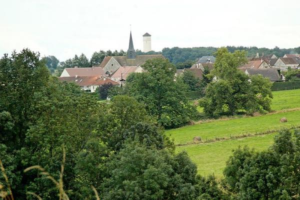 Courboin (Aisne) Vue générale