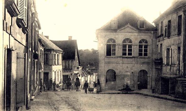 Craonne (Aisne) CPA Hôtel de Ville en 1914