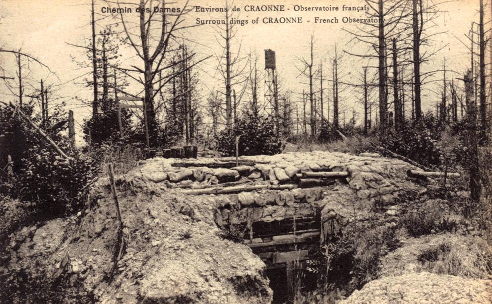 Craonne (Aisne) CPA L'observatoire français