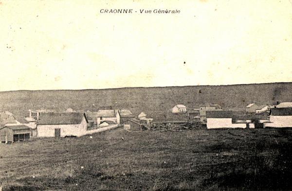 Craonne (Aisne) CPA vue générale avant 1914