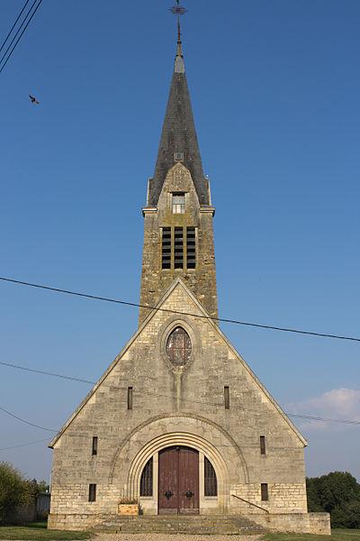 Craonne (Aisne) Eglise St Martin (de 1931)