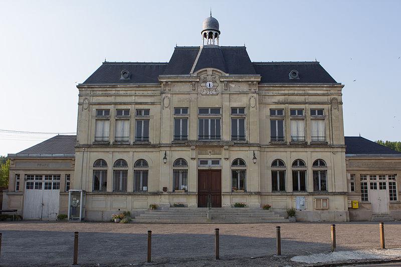 Craonne (Aisne) Hôtel de ville de 1926