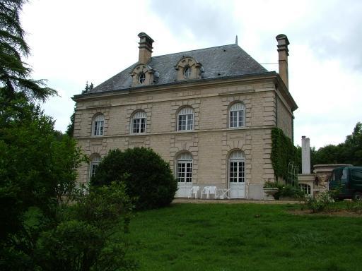 Craonnelle (Aisne) château du blanc-sablon