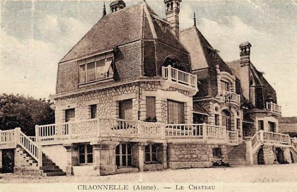 Craonnelle (Aisne) CPA château