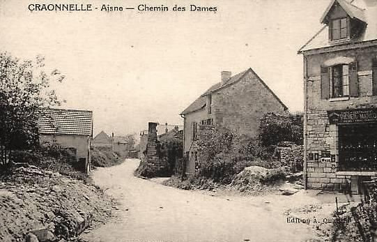 Craonnelle (Aisne) CPA le village