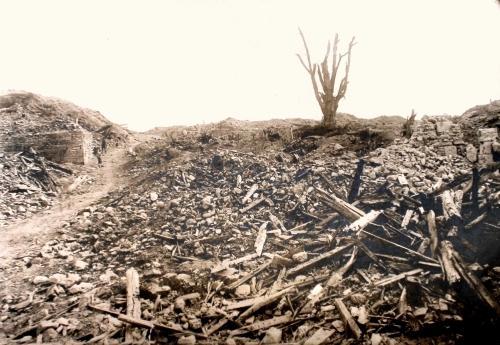 Craonnelle (Aisne) CPA vue générale 1918