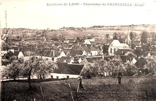 Craonnelle (Aisne) CPA vue générale