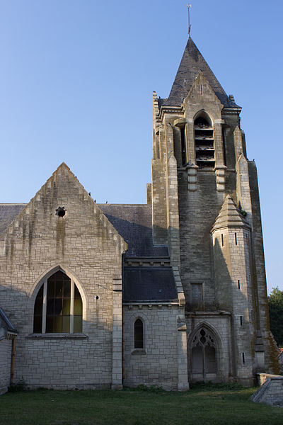 Craonnelle (Aisne) Eglise Sainte-Benoite