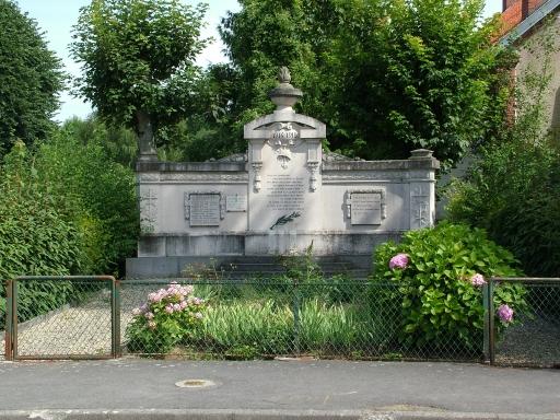 Craonnelle (Aisne) Monument aux morts