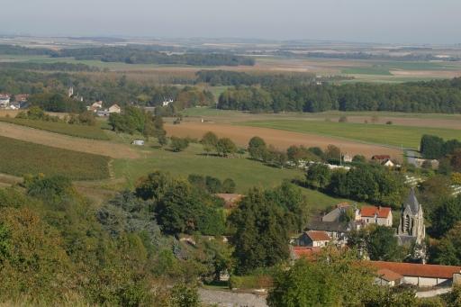 Craonnelle (Aisne) vue générale