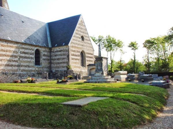 Criquebeuf-en-Caux (Seine Maritime) Eglise Saint Martin