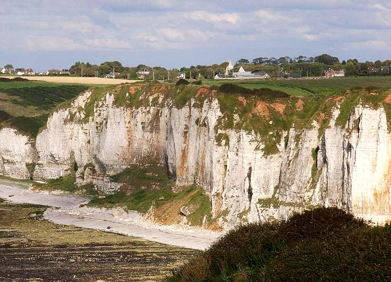 Criquebeuf-en-Caux (Seine Maritime) Falaises