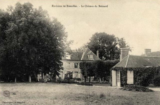 Crucey-Villages (28) Vitray-sous-Brézolles, le château du Boissard CPA