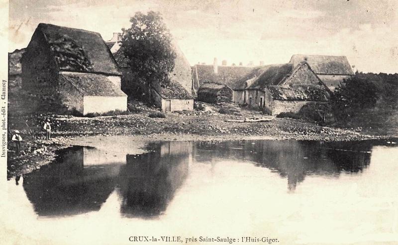Crux-la-Ville (Nièvre) L'Huis-Gigot CPA