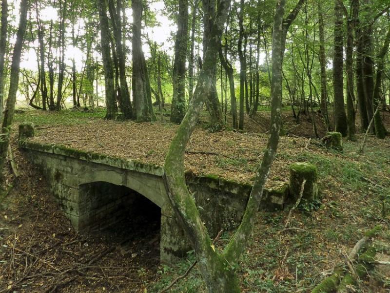 Crux-la-Ville (Nièvre) La rigole d'Aron