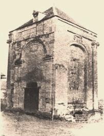 Cuissy-et-Gény (Aisne) CPA Abbaye clocher en 1876