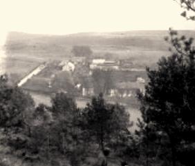 Cuissy-et-Gény (Aisne) CPA Abbaye des Prémontrés en 1917