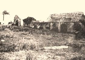Cuissy-et-Gény (Aisne) CPA Abbaye des Prémontrés boulangerie en 1876