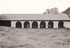 Cuissy-et-Gény (Aisne) CPA Abbaye des Prémontrés boulangerie en 1976