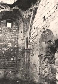 Cuissy-et-Gény (Aisne) CPA Abbaye des Prémontrés chapelle portion