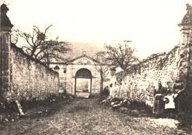 Cuissy-et-Gény (Aisne) CPA Abbaye des Prémontrés entrée avant 1914