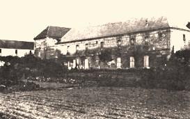 Cuissy-et-Gény (Aisne) CPA Abbaye serres et bergerie en 1976