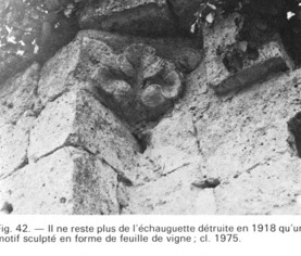 Cuissy-et-Gény (Aisne) CPA Abbaye vestige de l'échauguette