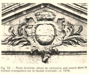 Cuissy-et-Gény (Aisne) CPA Porte d'entrée avant 1914