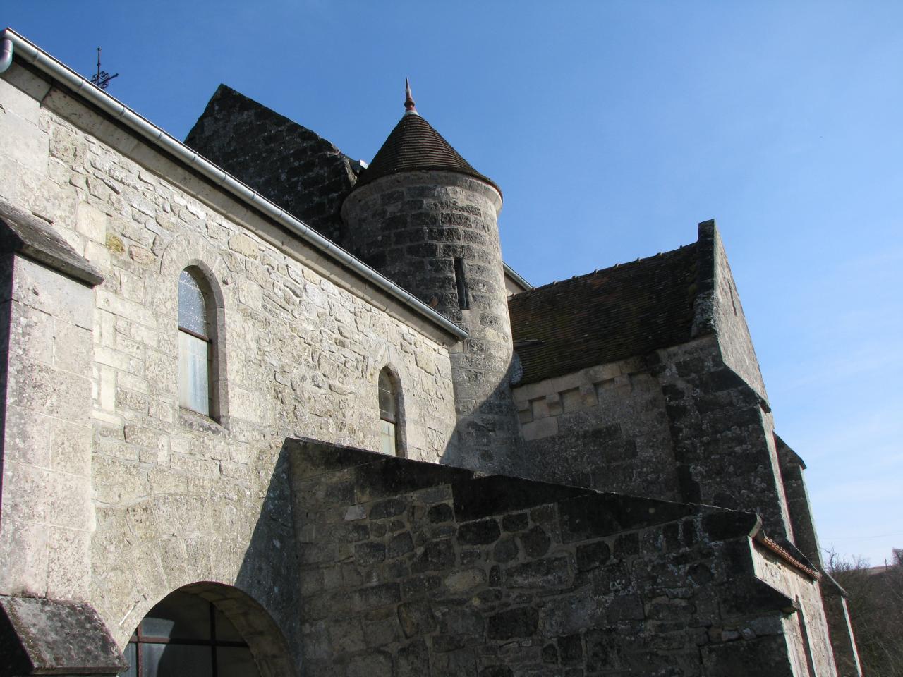 Cuissy-et-Gény (Aisne) Eglise Saint Pierre en 2009