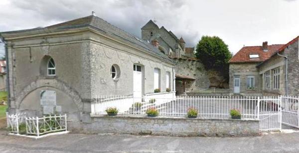 Cuissy-et-Gény (Aisne) Mairie école