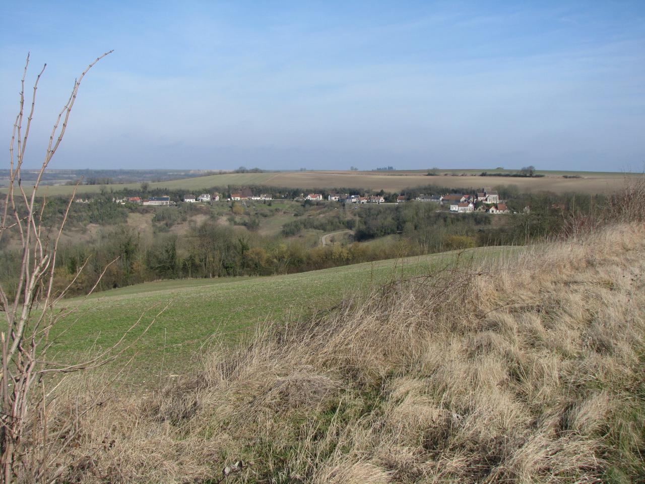Cuissy-et-Gény (Aisne) vue sur le village5 en 2009