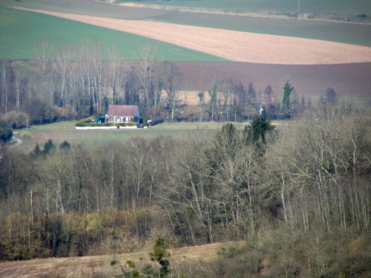 Cuissy-et-Gény (Aisne) Vue générale en 2009