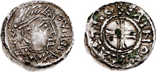 Denier d'Angoulème de Louis IV