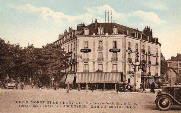 Dijon (Côte d'Or) L'Hôtel Morot et de Genève CPA