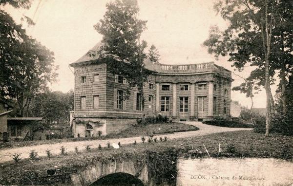 Dijon (Côte d'Or) Le château de Montmusard en 1900 CPA