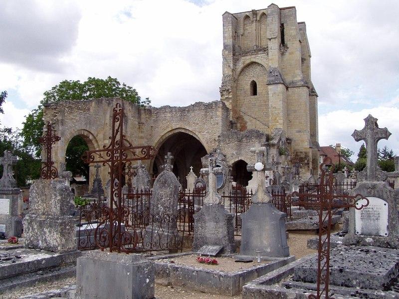 Donzy (Nièvre) L'église Notre-Dame-du-Pré