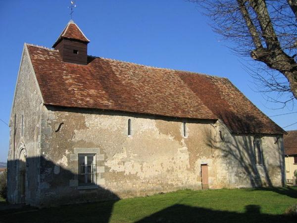 Donzy (Nièvre) La Grande Brosse, la chapelle Saint-Etienne
