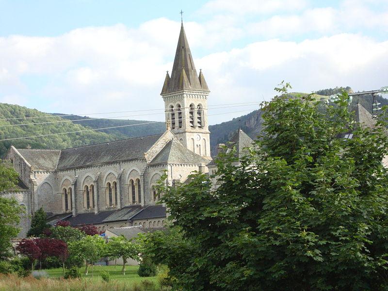 Dourgne (Tarn) Abbaye Saint Scholastique d'En-Calcat