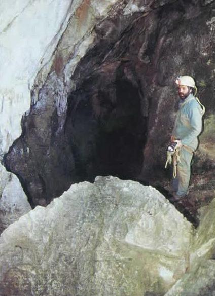 Dourgne (Tarn) grotte du Castellas