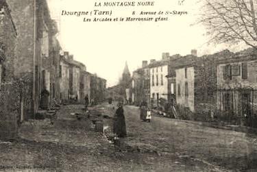 Dourgne (Tarn)  CPA