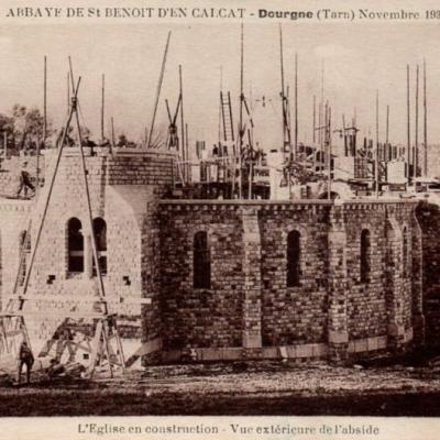 Dourgne (Tarn) CPA Abbaye Saint Benoit d'En-Calcat, 1932