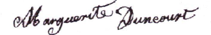 Marguerite Duncourt (1826/1902) épouse Nicolas Ponsin