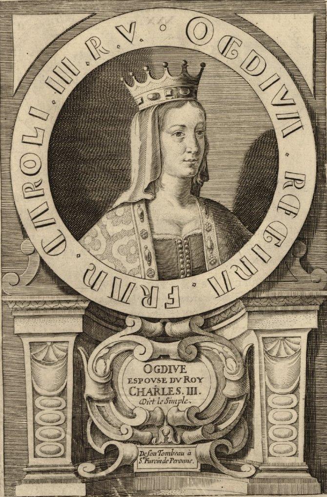 Edwige (Ogdive) de Wessex, sa seconde épouse
