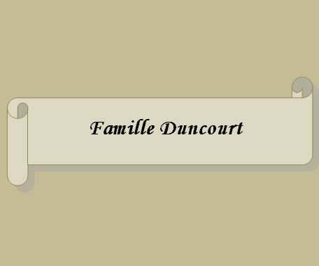 Famille Duncourt